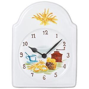 Dettagli su Atlanta 6107 Orologio da Parete Cucina Terraglia Al Quarzo  Analogico Altezze