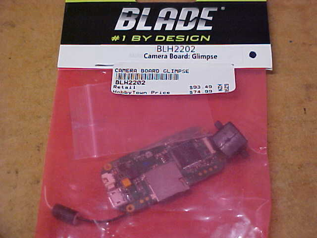 BLADE QUADCOPTER PART PART PART - BLH2202 = CAMERA BOARD    GLIMPSE (NEW) 028de1