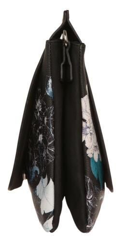 Desigual Damen Tasche BOLSA ARCADIA Umhängetasche schwarz blau 18WAXPDA-2000