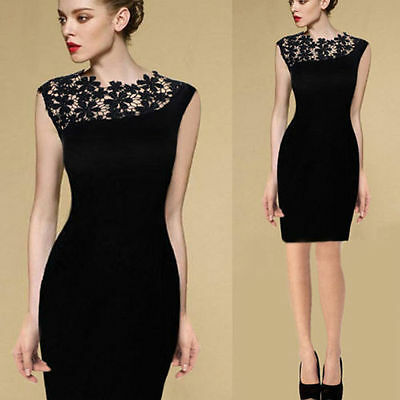 Fashion-Women-Lace-Sleeveless-Bodycon-Cocktail-Evening-Party-Pencil-Mini-Dress