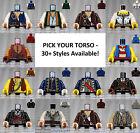 LEGO - Torsos PIRATES - PICK YOUR STYLE - Minifigure Body Parts Arms Hands POC