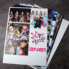 K-POP 2NE1 10Posters 2NE1 Collection Bromide (10PCS)  A4 SIZE