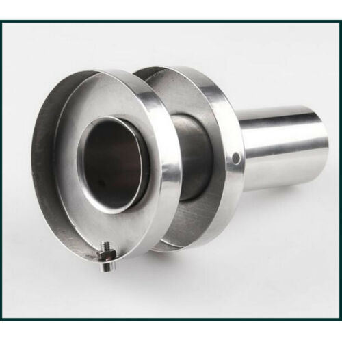 """4.5/"""" Outer Dia //2/"""" Inner Core Stainless Double Section Exhaust Muffler Canister"""