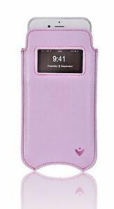 iPhone-8-Plus-7-Funda-ventana-nuevue-sintetica-purpura-AUTOLIMPIEZA-GUARNICIoN