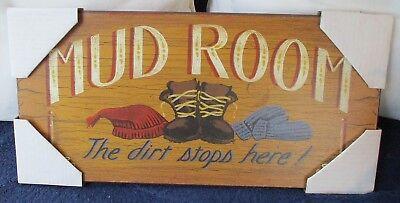 Easel shelf decor Mud Room Kitchen wood sign 4x12 NO SHOES INSIDE sign only