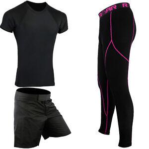 ROAR-MMA-Short-UFC-Fight-Training-BJJ-Rash-Guard-Gym-Wear-Compression-Legging