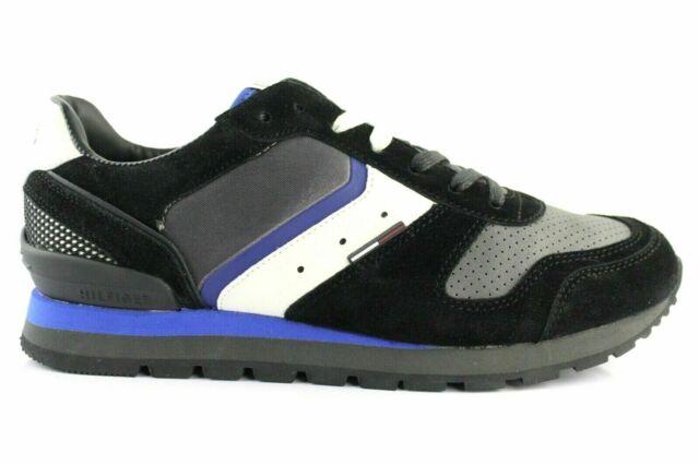 Turnschuhe Tommy Hilfiger Rauleder Grau Gr.42 Herrenschuhe Schuhe Sneaker