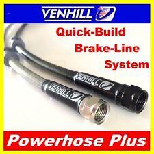 500mm Custom Stainless steel braided Powerhose Plus brake line hose VENHILL