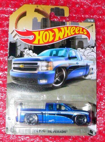 Hot Wheels Rad Trucks   Chevy Silverado   #7  DJK00-D910