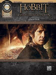 The-Hobbit-The-Motion-Picture-Trilogy-Instrumental-Solos-Alto-Sax-Book-amp