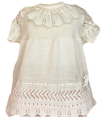 crochet and cotton 18 months  dress made in spain Lovely baby dress Ibiza style