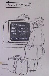 Gerhard-Brinkmann-1913-1990-G-Bri-Cartoon-Entwurf-Computer-Age