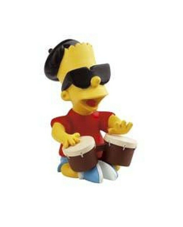 NEW The Simpsons Statue Bart Drumming Demons & Merveilles figure hommer clown