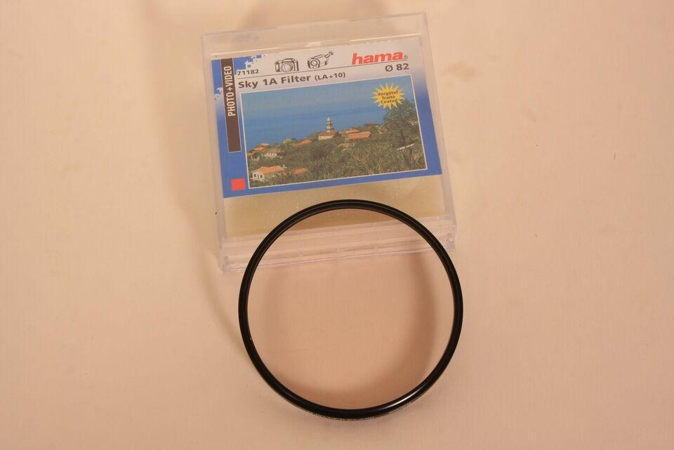 Filter til linser, Hama - Hoya, 82 mm + 72 mm + 58 mm.