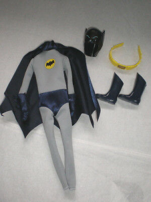 CLASSIC TV BATMAN BARBIE OUTFIT ONLY NEVER DISPLAYED  NEW