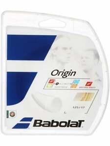 Babolat-Origin-1-25-Neutral-White-color-Tennis-string-Corde-Tennis