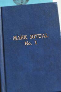 Masonic collection 6 Books! include Mark No1 & Malta & Emulation Ritual
