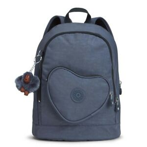 e48afd407a Image is loading Kipling-Heart-Backpack-True-Jeans-Childrens-Backpack-BNWT