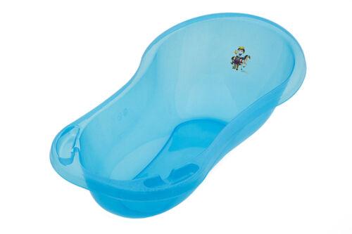 Baby Badewanne XXL 100 cm Little Kingdom Prinz transparent blau mit Glitzer Baby