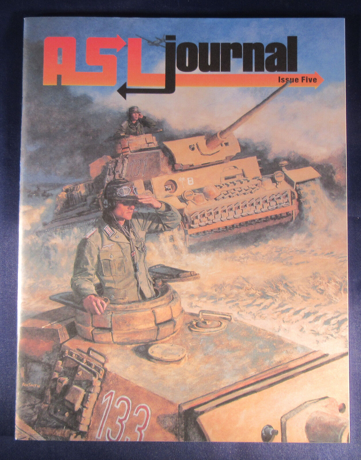 ASL Journal  5  MMP  OOP   mint condition    Flat  7.00 Shipping in USA