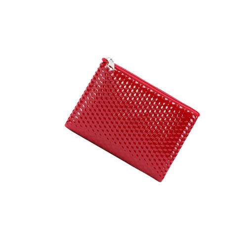 Womens Coin Purse Faux Leather Zip Around Crocodile Wallet Clutch Purse YI