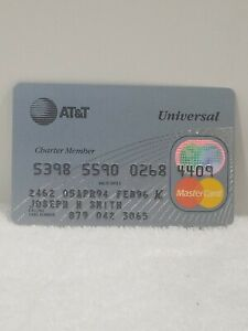 Collectible-Credit-Charge-Card-A-T-amp-T-Universal-MasterCard-1994-96