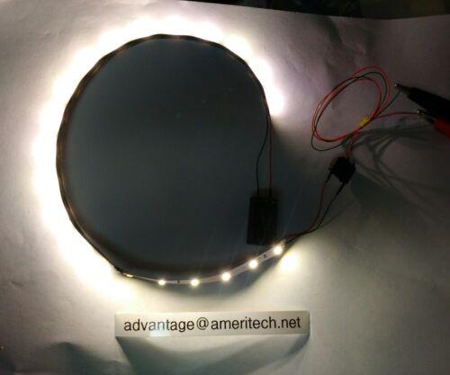 Warm White LED Strip 14 Long 21 LEDs  fits G Scale  Passenger Car
