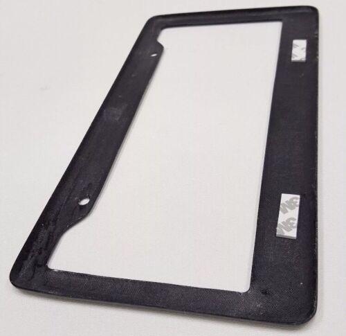 100/% Real Carbon Fiber License Plate Frame Cover Black 2PC Set Auto Tag 3K