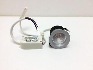 Spot-led-encastre-fixe-Griot-EMCD1001N-4W3K-3000k-250lm-4W-gris