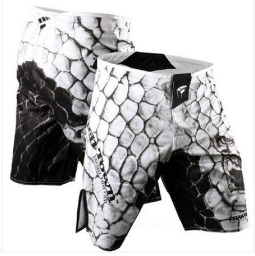 Boxe Troncs Mma Prises Combat Short Professionnel Vintage Cottons Respirant