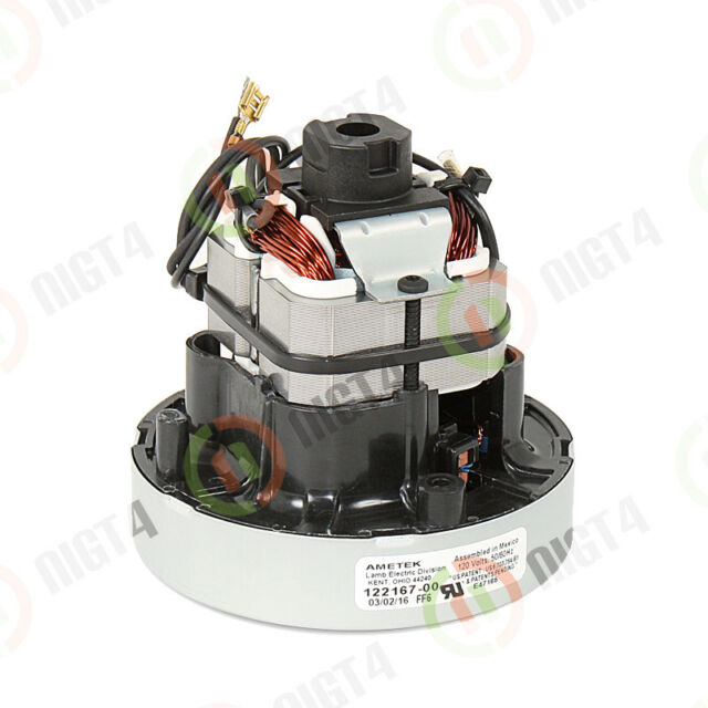 New! Central Vacuum Motor 122167-00 WITH GASKET Windtunnel Hoover -Powerful!
