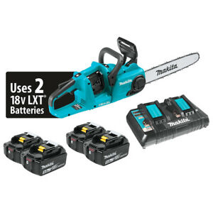 Makita-XCU03PT1-36-Volt-LXT-14-Inch-5-0Ah-Lithium-Ion-Brushless-Chain-Saw-Kit