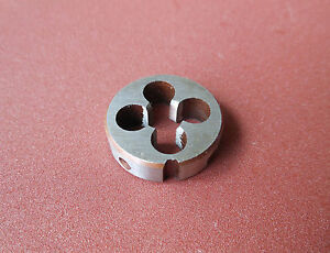 New 1pc Metric Left Hand Die M7 X 0.5mm Dies Threading Tools 7mm X 0.5mm pitch