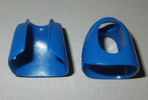 blau kurz glatt 2x Jacke Weste 05509V