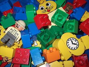 LEGO DUPLO 50 TEILIGES TEILE DUPLO STARTERSET SONDERSTEINE 1 X FIGUR BAUSTEINE