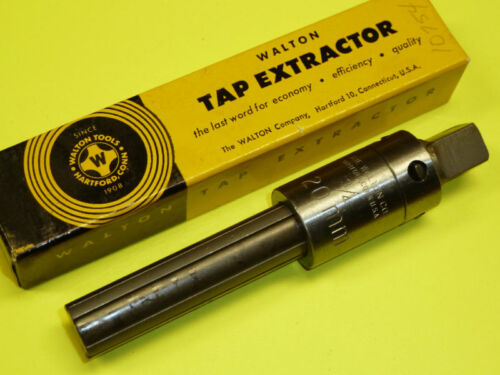 NEW Walton 4 Flute Tap Extractor For 3//4 Taps #10754