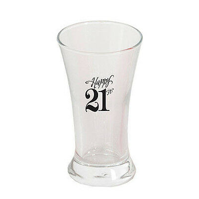 1 Dozen 21ST BIRTHDAY SHOT GLASSES