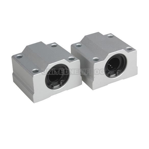 UN3F 2 Pcs 12 mm SC12UU Linear Ball Bearing Slider Slide Bushing Replacement CNC