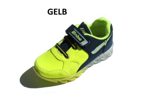Scarpe Bambino Bambini Scarpe Ragazze ledschuhe fluorescenti led Sport Velcro Neon