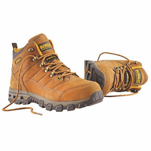 c7b2d5ae213 Details about Dewalt Pro Mens Safety Work Boots Size 7-12 Wide Fit  Aluminium Toe Cap Brown NEW