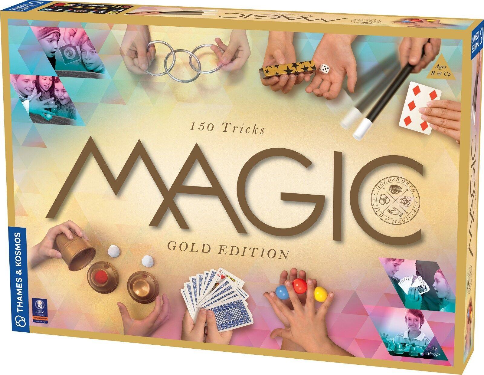 Thames and Kosmos Magic gold Set Magicians Kit