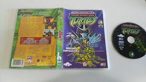 LAS-TORTUGAS-NINJA-DVD-4-EPISODIOS-17-21-SELECTA-VISION-EDICION-ESPANOLA