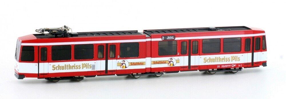 Hobbytrain 14904 Straßenbahn Düwag M6 BOGESTRA  Schultheiss Pils  Ep.IV-V NEU