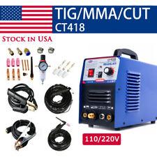 Ct312 Tigmmacut 3in1 Air Plasma Cutter Welder Welding Machine Amp Torches