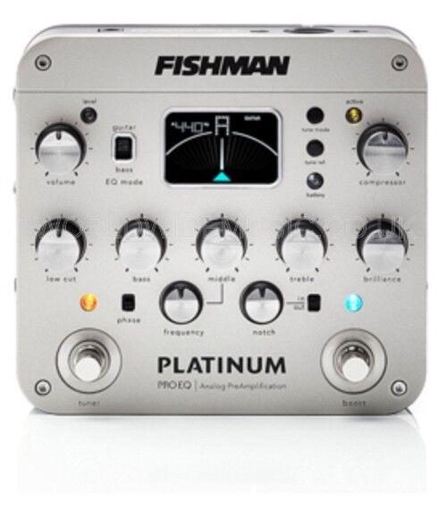 Fishman Platinum PRO EQ   DI Pro Pre-amp und DI Box for Acoustic Instruments