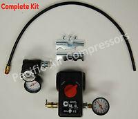 Pressure Switch Kit Husky Compressor 100 Psi On & 125 Psi Off 4 Port W/on/off