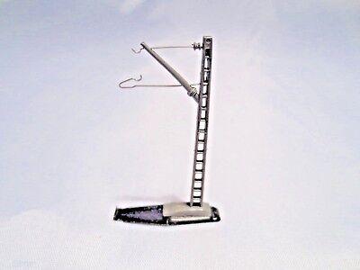 8911 Mast Per Catenaria M.piastra Pavimento Märklin Z + Top +