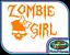 Zombie Girl Dead Walking G Vinyl Sticker Car Bike Truck Cute Fun Window Decal