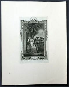 1784 T Stothard 3 x Antique Prints From Novel Belisaire by Jean-Francois Marmont