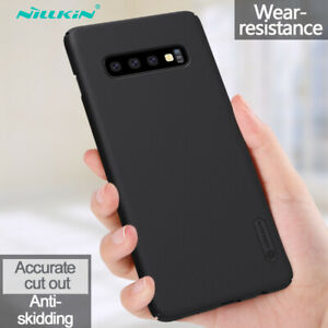 NILLKIN-For-Samsung-Galaxy-S10-Plus-S10e-Shockproof-Frosted-Shield-Hard-Case